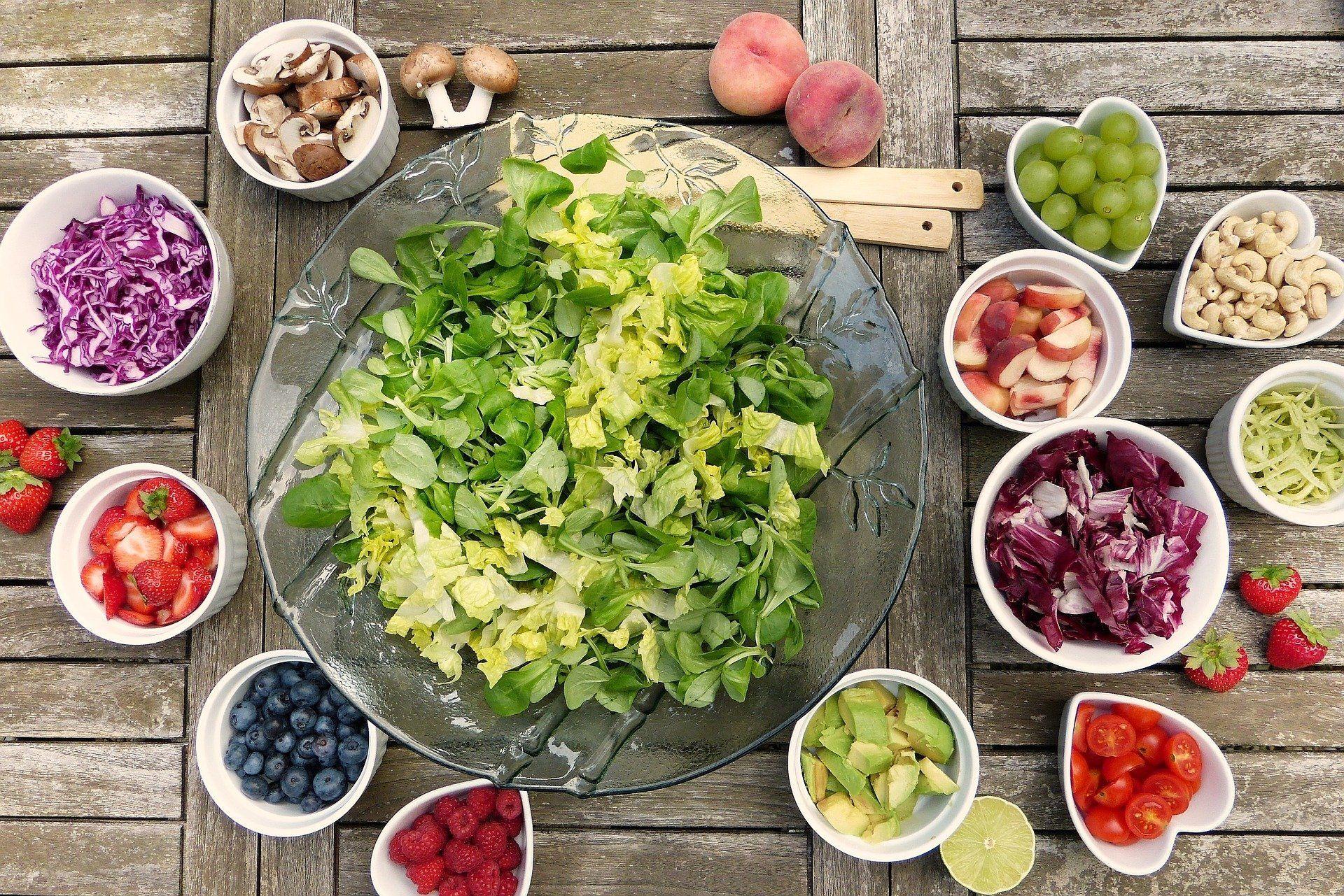 vegetarisch voedingsschema