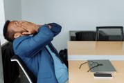 afvallen of aankomen door stress